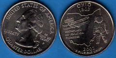 Stati Uniti d'America Quarter Dollar 2002 Ohio
