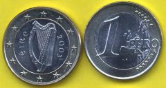 Irlanda 1 Euro 2002 - 2006