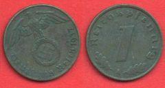 1 Pfennig Terzo reich