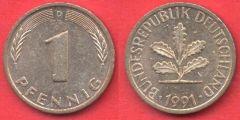 1 Pfennig Repubblica Federale Tedesca