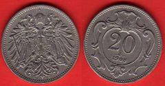 Austria 20 Heller 1892-1914