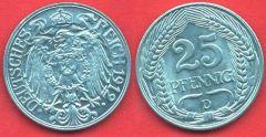 25 Pfennig Impero Tedesco