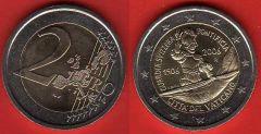 Vaticano 2 Euro Commemorativa 2006
