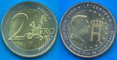 Lussemburgo 2 Euro commemorativo 2004