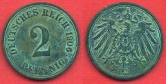 2 Pfennig Impero Tedesco (1904 - 1916)