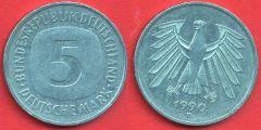 5 marchi Germania Federale (1975 - 1996)
