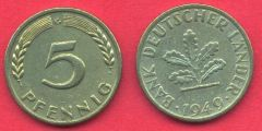 5 Pfennig Germania