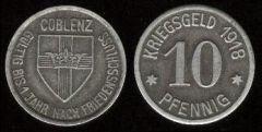 10 Pfennig 1918 (Kriegsgeld)