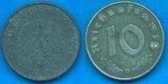 10 Pfennig Terzo Reich (1940 - 1945)