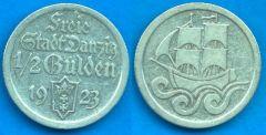 1/2 Gulden 1923