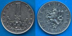 Repubblica Ceca (1993-....) 1 Koruna
