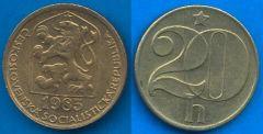 Repubblica Socialista Cecoslovacca (1960 - 1990) 20 Heller 1972 - 1990