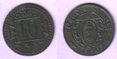 10 pfennig 1920 (b)