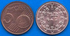 Portogallo 5 cent