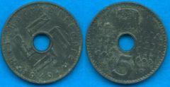5 Pfennig Reichkreditkasse 1940-1941