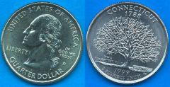 Stati Uniti d'America Quarter Dollar 1999 Connecticut