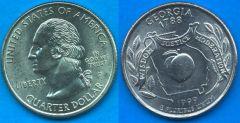 Stati Uniti d'America Quarter Dollar 1999 Georgia