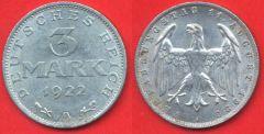 3 Marchi Repubblica di Weimar