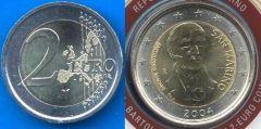 San Marino 2 Euro commemorativo 2004