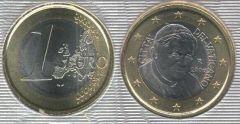 Vaticano 1 Euro (2006 - ....)