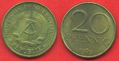 20 Pfennig DDR (1969 - 1990)