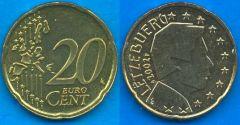 Lussemburgo 20 cent