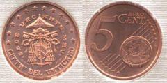 5 cent Sede Vacante MMV