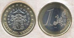 1 euro Sede Vacante MMV
