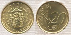 20 cent Sede Vacante MMV