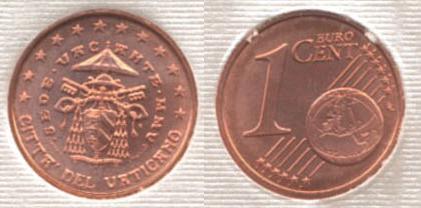 1 cent Sede Vacante MMV