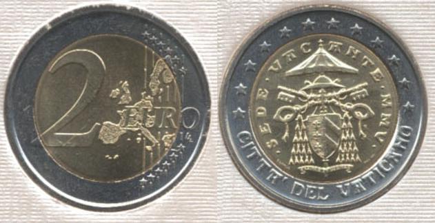 2 Euro Sede Vacante MMV