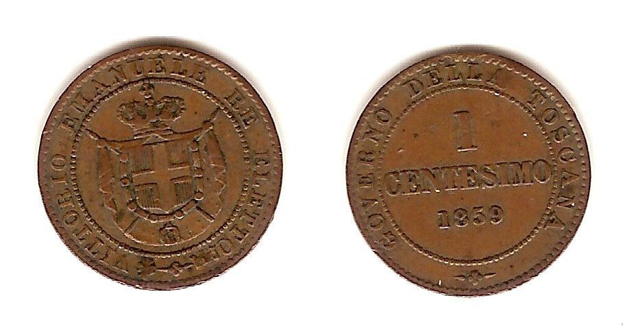 1 Centesimo Vittorio Emanuele Re Eletto