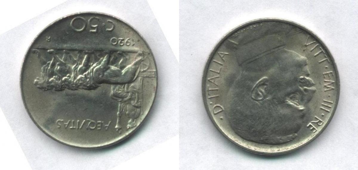 50 Centesimi Leoni
