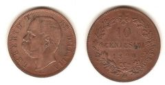10 Centesimi Valore - Umberto I