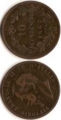 10 centesimi Valore - Vittorio Emanuele II
