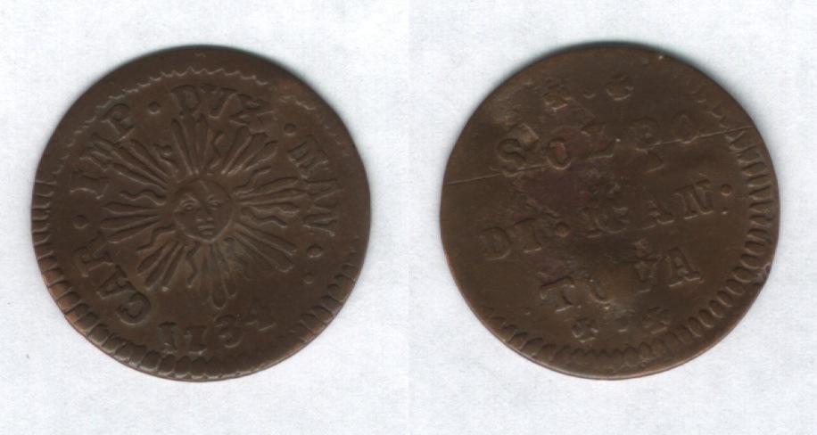 Soldo di Mantova, Carlo VI d'Asburgo