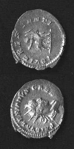 Valeriano II figlio - Antoniniano