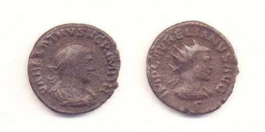 Vabalato e Aureliano - Antoniniano