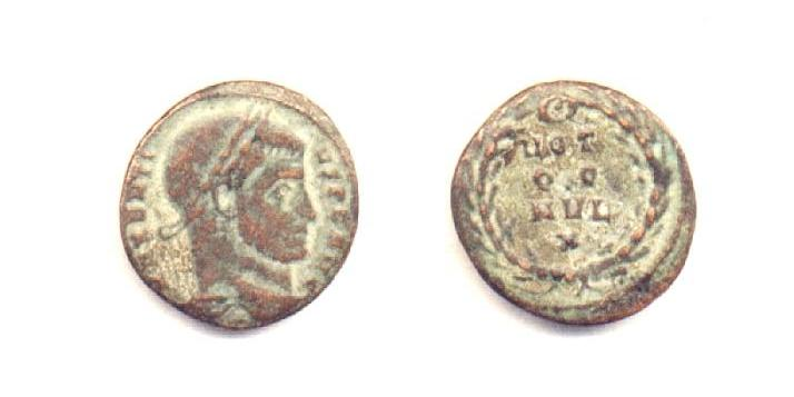 Massenzio - 1/4 di Follis