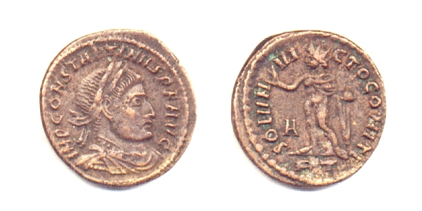 Costantino I - 1/2 follis