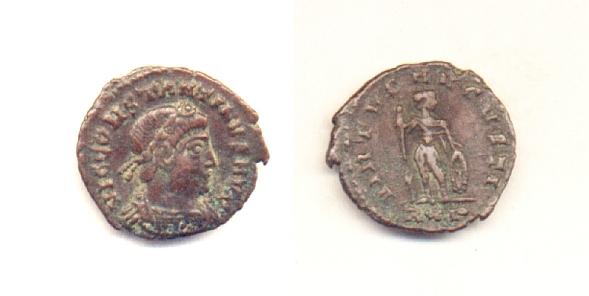 Costantino II - Bronzo Ø16