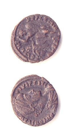 Costanzo II - Bronzo Ø18