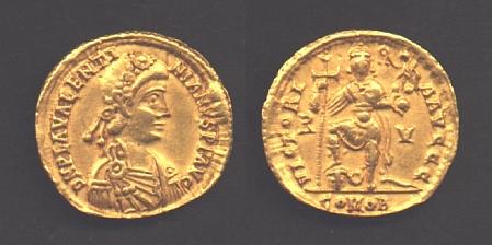 Valentiniano III - Solido