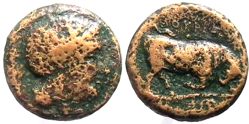 Thourioi - Bronzo Ø28