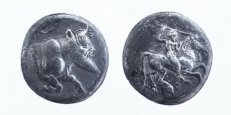 Gela - Didramma