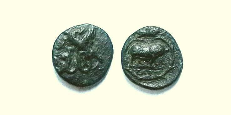 Eleusis - Bronzo Ø14