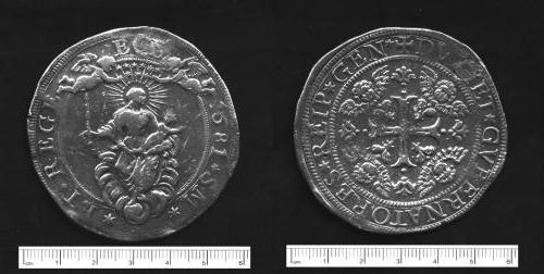 Genova - 1681 - 2 scudi