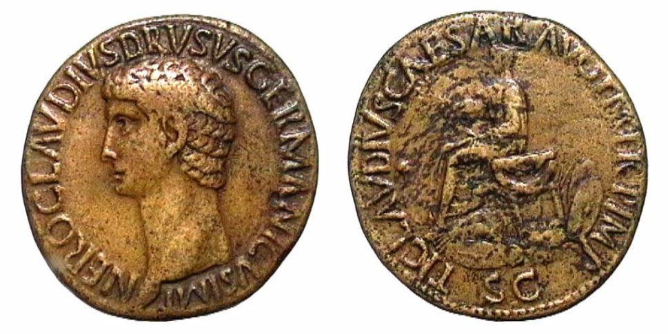 Nerone Druso - Sesterzio