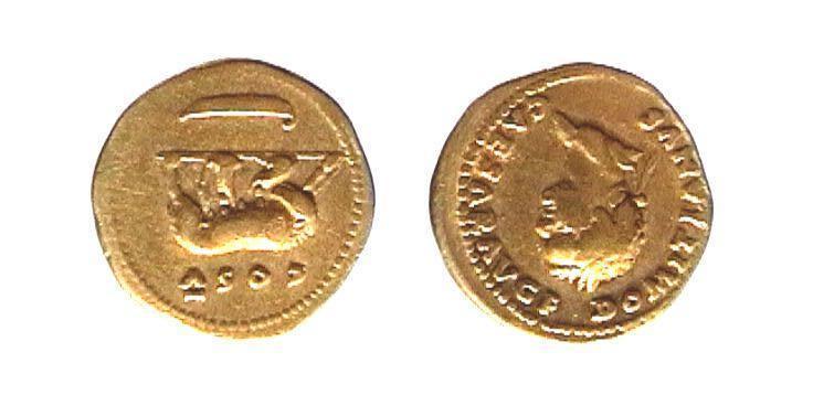 Domiziano - Aureo