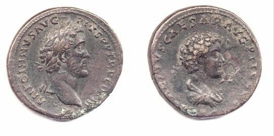 Antonino Pio e Marco Aurelio - Sesterzio